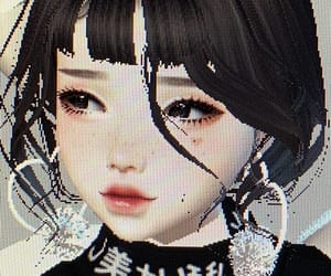 imvu, aesthetic, and black image