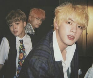 bts, jin, and jimin image