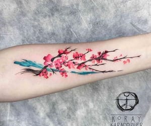 tattoo, art, and watercolor image