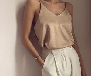 beautiful, beige, and fashionable image