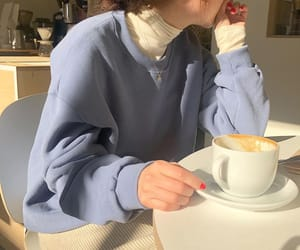 aesthetic, cafe, and coffee image