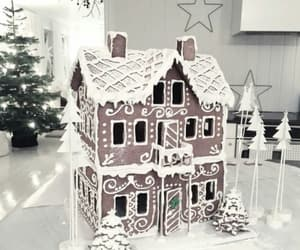 house, christmas, and food image