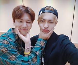 ateez, hongjoong, and wooyoung image