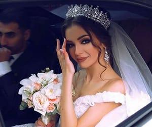 wedding, bride, and bridal image