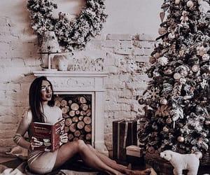 tree, christmas, and cozy image