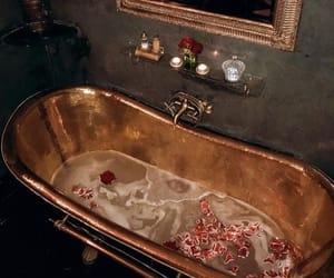 gold, luxury, and bath image