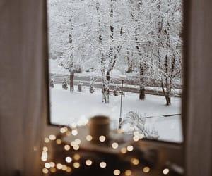 Christmas time, snow, and winter image