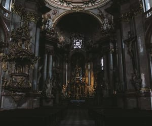 dark and cathedral image