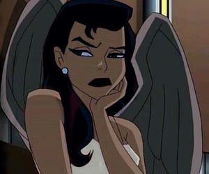 cartoon, mood, and angel image