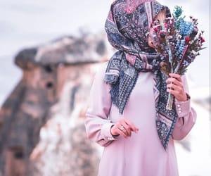 حجاب, محجبات, and hijab girly image