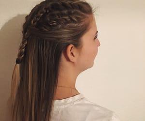 braid, haircut, and hairdo image