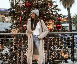 fashion, christmas, and girl image