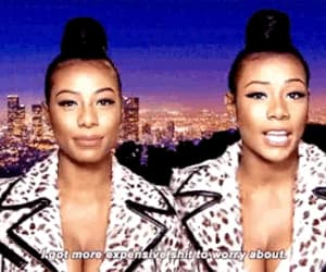 gif, baddie, and clermont twins image