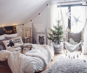 cozy, room, and white image