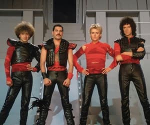 80s, Freddie Mercury, and Queen image