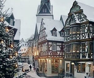 christmas, germany, and snow image
