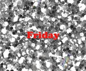friday, red, and sparkles image