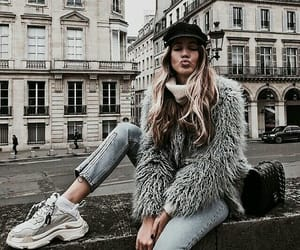 fashion, girl, and travel image