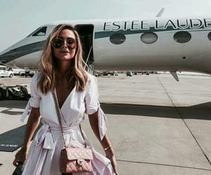 airplane, chic, and fashion image