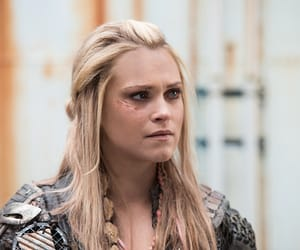 blonde, the 100, and clarke griffin image