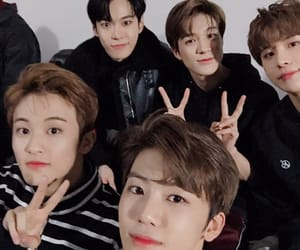 mark, jungwoo, and doyoung image
