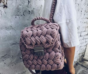 backpack, purple, and bag image