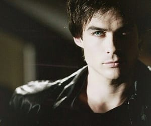 damon salvatore, ian somerhalder, and the vampire diaries image