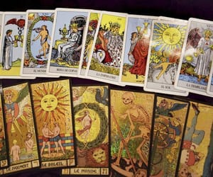 occult, tarot, and tarot cards image