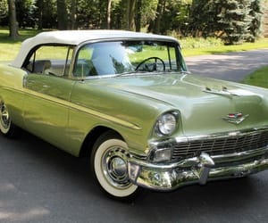50s, belair, and cars image