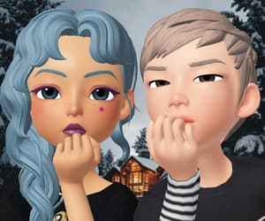 couple, zepeto, and happy image