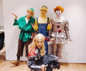Halloween, kun, and renjun image