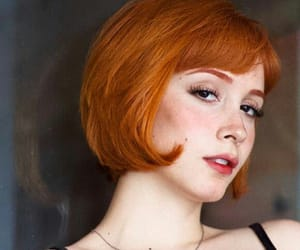 ginger, orange, and orange hair image