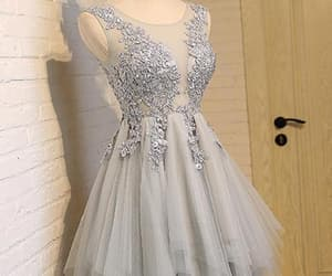 high low prom dresses, prom dresses short, and lace homecoming dresses image