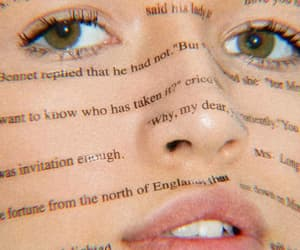 aesthetic, eyes, and words image