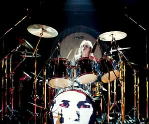 gif, Queen, and roger taylor image