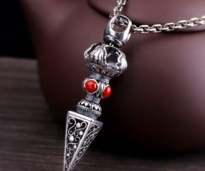 choker, gifts, and silver jewelry image