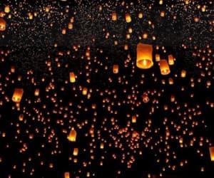 lantern, sky, and tumblr image