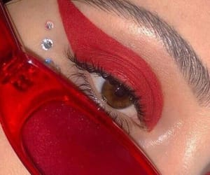 aesthetic, red, and fashion image