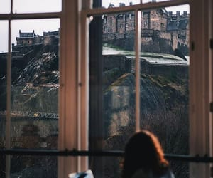 desk, scotland, and edinburgh image
