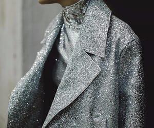 fashion, glitter, and silver image