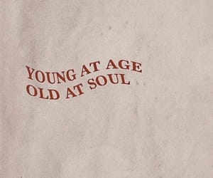 quote, old, and soul image
