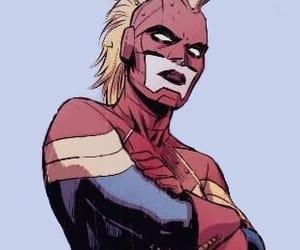 mine, marvel comics, and captain marvel image