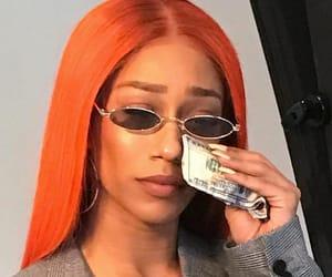 money, meme, and orange image
