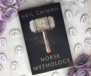 books, Neil Gaiman, and reading image