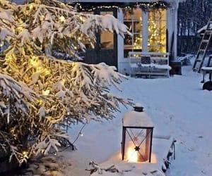 christmas, cozy, and snow image
