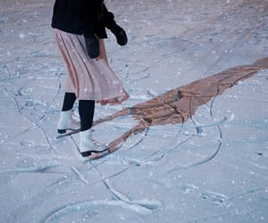 girl, winter, and photography image