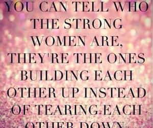 glitter, pink, and strong women image
