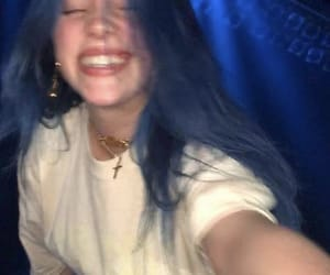 billie, blue, and cute image