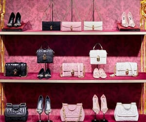 bags, pink, and fashion image