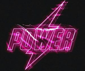 lights, neon, and power image